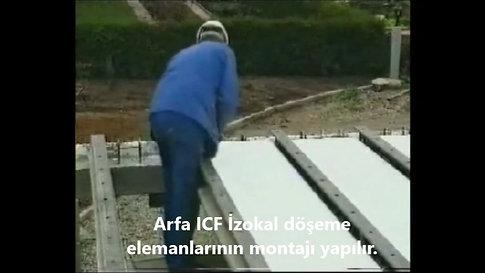 Arfa ICF İzokal Yalıtımlı Modüler Döşeme Sistemi