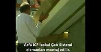 Arfa ICF İzokal Yalıtımlı Modüler Çatı Sistemi