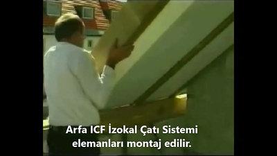 Arfa ICF İzokal Modüler Çatı Kalıp Sistemi