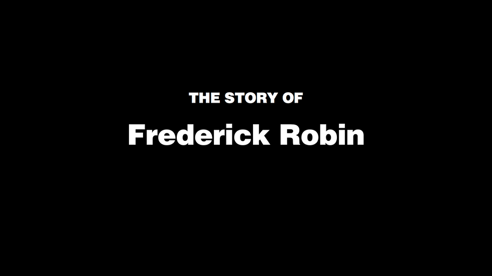 The Story of Frederick Robin