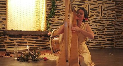 Récital Lucille aimée, La Selva Harpa