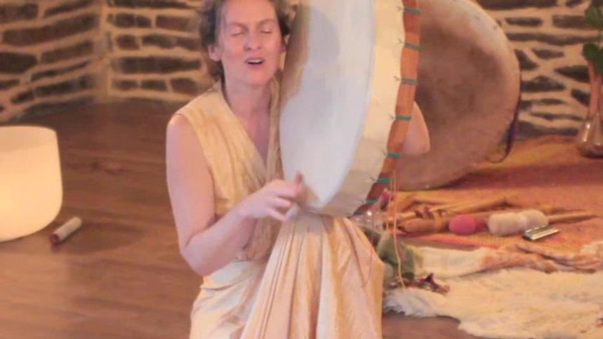 chant pour la pachamama, recital lucille aimée