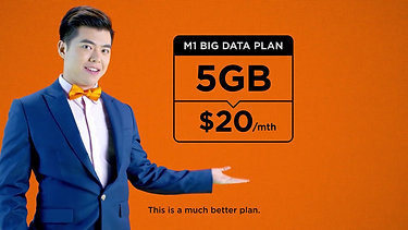 M1 Big Data Plan - 5GB At 20Mth And More
