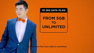 M1 Big Data Plans - From 5GB To Unlimited