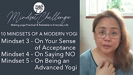 Mindsets of a Modern Yogi 3 to 5