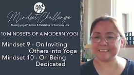 Mindsets of a Modern Yogi 9 to 10