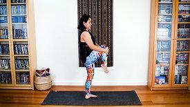 Hand to Foot Standing Balancing