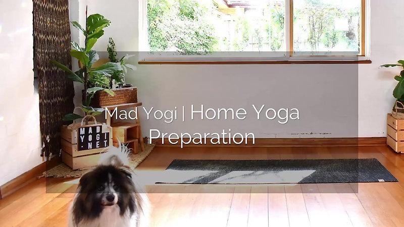 Home Yoga Props Essential Preps