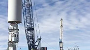 Instalación de Torre - Parque Eólico Viento Los Hércules
