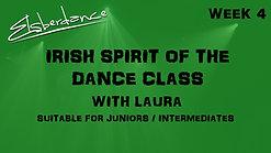 Irish Spirit Of The Dance Class - Juniors / Beginners