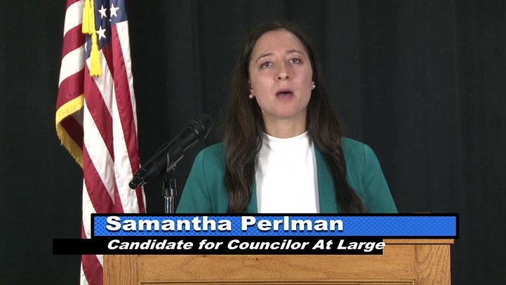 Sam's Candidate Profile on WMCT-TV