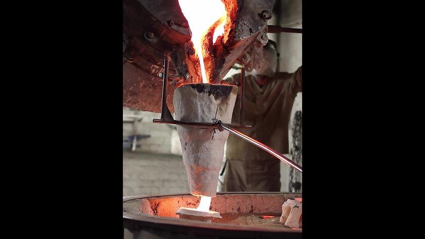 Bronze Pour