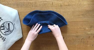 帽子のたたみ方 How to fold a Stranger Hat