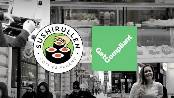 GetCompliant för Sushirullen
