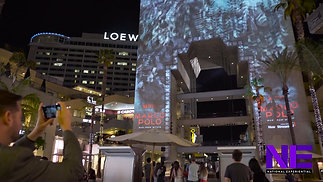 3D Video Mapping_ Netflix Marco Polo Hollywood & Highland
