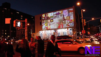Volkswagen HD Projections & Live Twitter Feed Projections