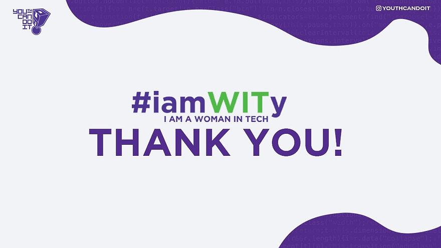 YCDI #iamWITy Conference 2020