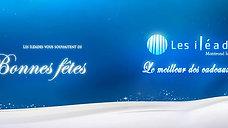 """Bannière """"les Iléades"""" Noël 2019"""