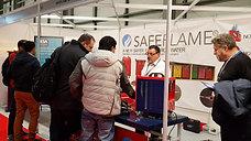 Technical Consultant Derek Davies explaining Safeflame product