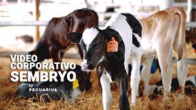 Video Corporativo SEMBRYO - Laboratorio de Genética Bovina