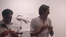 Dani Salorio con su brillante exposición
