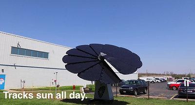 SmartFlower Solar Timelapse