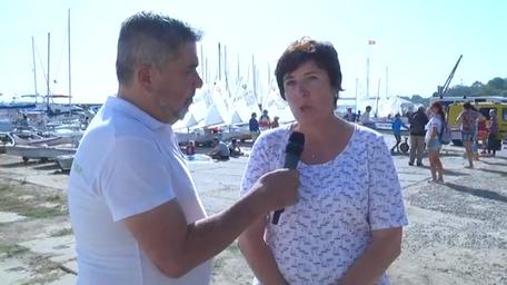 📡 | Watch sailing ⛵️ | 📺 Чемпионат Украины среди юношей и девушек 2019 | Юлия Киселева о регате | Прямая трансляция