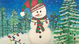 A Holly Jolly Snowman
