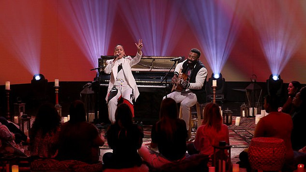 Curt Chambers Makes Appearance on The Ellen Show with Alicia Keys