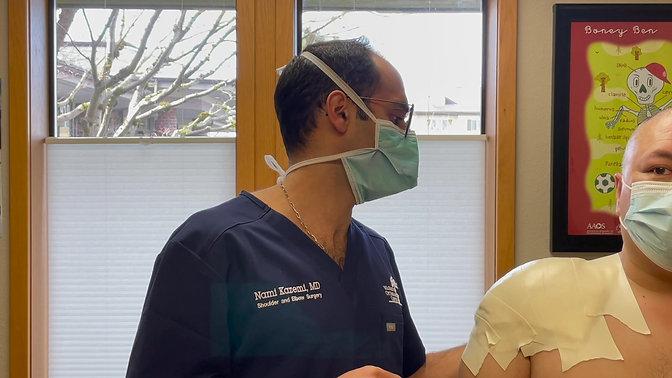 Shoulder Arthroscopy Dressing Care