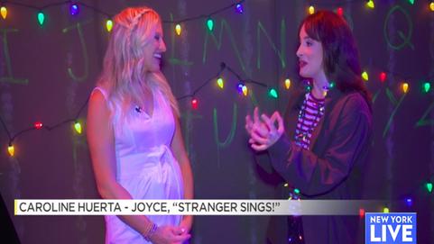 'Stranger Sings!' - NBC New York Live