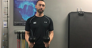 If You've Been Doing This Common Shoulder Exercise With A Dumbbell Here's Why You Should Ditch It