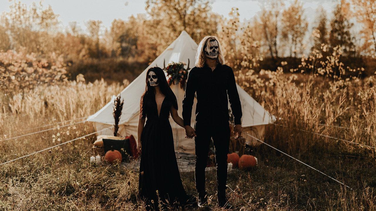 Halloween Couple Shoot