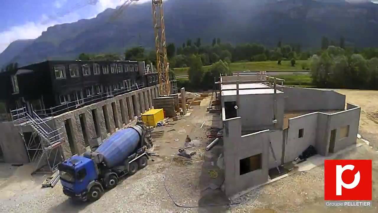 Construction siège social du Groupe PELLETIER