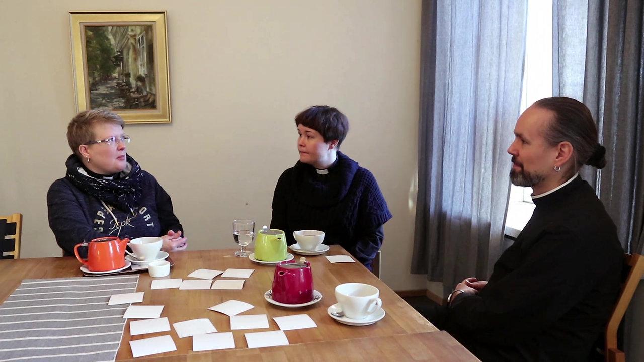 Etsijän haastattelussa Turun oppilaitospapit - maaliskuu 2020