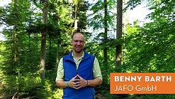 JaFo Waldtag mit Praktikanten der Firma Stihl