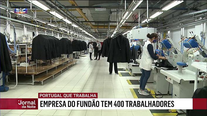 TWX EM 'PORTUGAL QUE TRABALHA' SIC