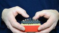 Petit piano à pouces à 7 notes