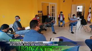 PROYECTO ALCANTARILLAS DE ISLA COLÓN