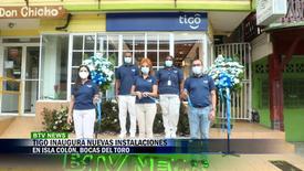 INAUGURACION DE OFICINAS TIGO ISLA COLÓN