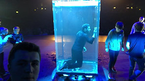 On Stage with David Blaine