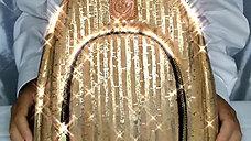 Golden Teddy Bag