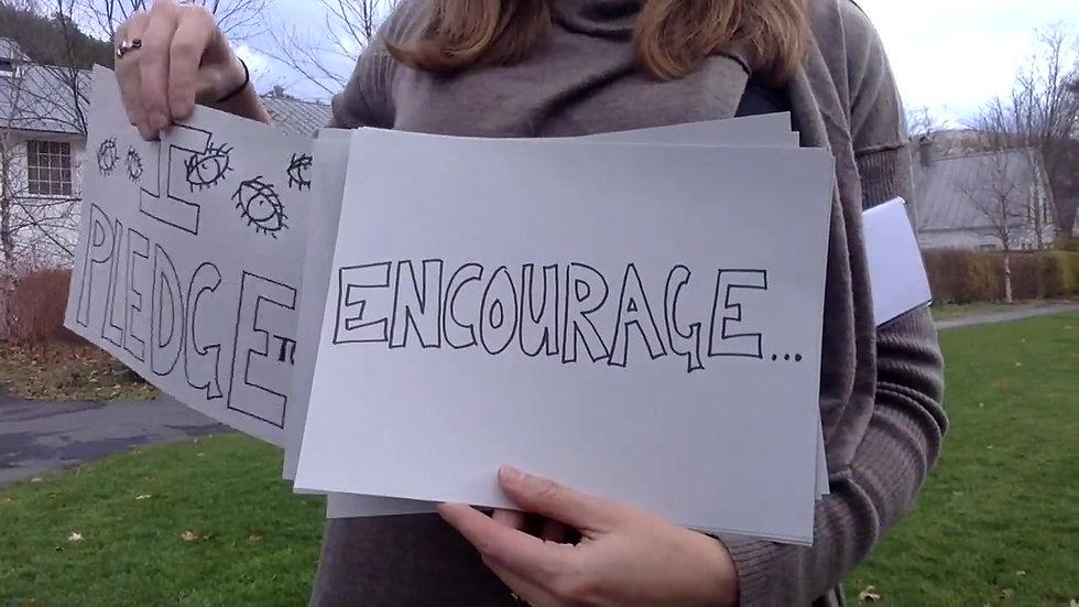 Finnie's 40 sec. Creativity Pledge
