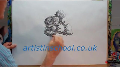 How to Draw Trees - Simply