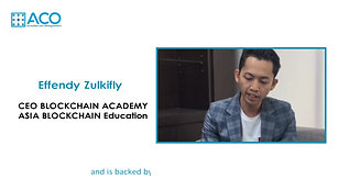 Effendy Zulkifly - Why should Investors use ACO?