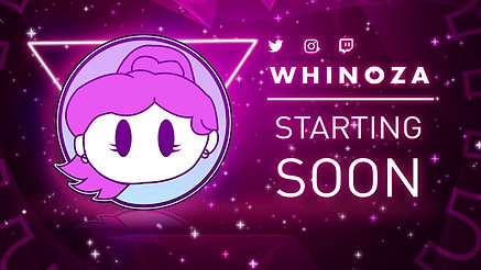 Twitch Screen: Starting Soon