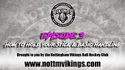 Episode 3 - How to hold your stick & basic handling