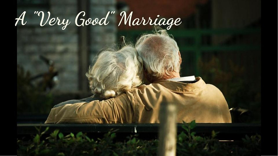 "A ""Very Good"" Marriage"