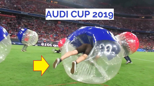 Bubble Soccer - AUDI CUP - Finale Bayern Tottenham