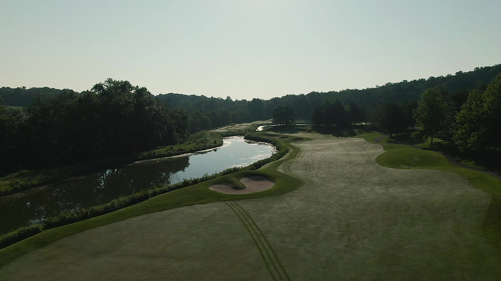 Hole 14 Fly-over